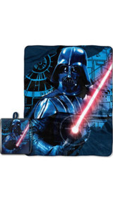 Star Wars Darth Vader Throw with Draw String Tote