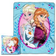 """Frozen """"Nordic Family"""" Pillow & Throw Set"""