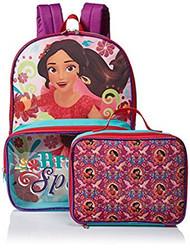 Disney Girls' Elena Backpack with Lunch Window Pocket