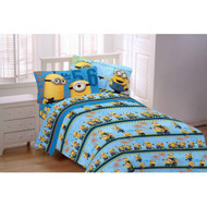 Despicable Me Minions 3PC Flannel Twin Sheet Set