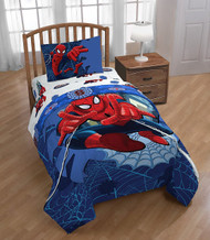 Spiderman Twin Bed Sheet Set