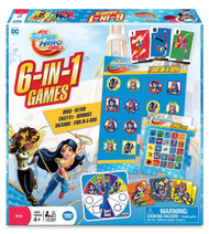 DC Super Hero Girls 6-in-1 Game