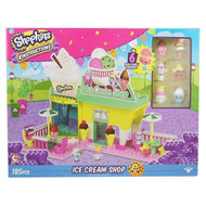 Shopkins Kinstructions Ice Cream Shop Playset