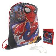 Spiderman Gift Set Drawstring Bag