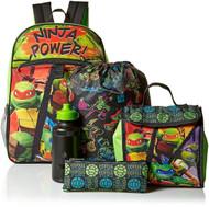 Teenage Mutant Ninja Turtles 5pc Backpack Set, Green