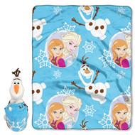 Frozen Hugger and Throw- Blizzard Boy Olaf