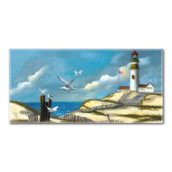 Song of the Sea Gulls Beach Towel