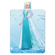 Disney Frozen Pillow and Throw- Elsa