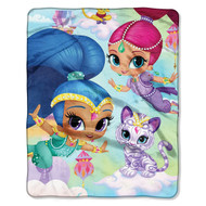 Shimmer and Shine Pillow and Throw