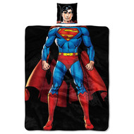 Superman Pillow and Throw