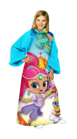 Girls Shimmer and Shine Youth Comfy Throw