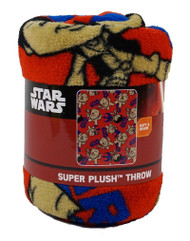 Star Wars Micro Raschel Throw-Lightside Chewbacca