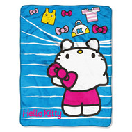 Hello Kitty Micro Raschel Throw
