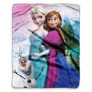 Disney Frozen Anna & Elsa Sister Throw