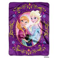 Disney's Frozen Nordic Love Silk Touch Throw