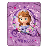 "Disney ""Sofia The First Princess Perfection"" Throw"