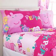 Peppa Pig Full Sheet Set-Pink