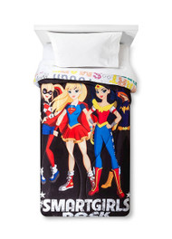 DC Super Hero Girls Twin Comforter