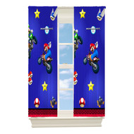 Nintendo Super Mario Blackout Drapery Panel