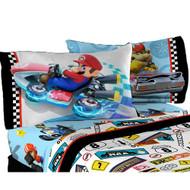 Super Mario Road Rumble Reversible Pillowcase