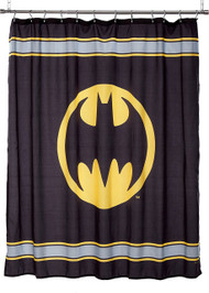 Batman Logo Shower Curtain