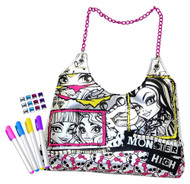 Monster High Color N Style Fashion Tote Activity