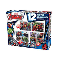 Avengers 12-Puzzle Pack