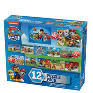 Paw Patrol 12-Puzzle Pack