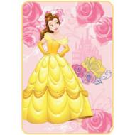 """Disney Belle """"Kind of Heart"""" Plush Blanket"""