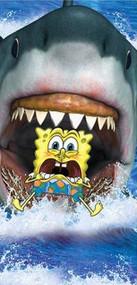 SpongeBob 'Shark Bites' Beach Towel