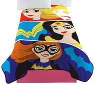 Super Hero Girl Strong Heroes Blanket