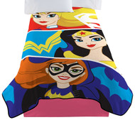 Super Hero Girl Strong Heroes Blanket