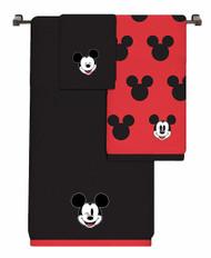 Mickey Mouse 3 Piece Cotton Bath Towel Set
