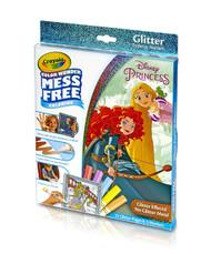 Disney Princess Crayola Glitter Pad & Markers