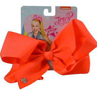 JoJo Siwa Neon Coral Basic Hair Bow