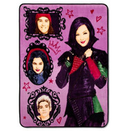 Disney Descendants Plush Throw Blanket