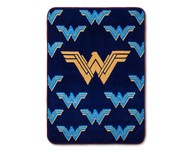 Wonder Woman Navy Throw