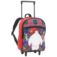 Big Hero 6 Boys Small Rolling Backpack