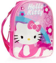 Hello Kitty Mini Backpack with Hood- Pink