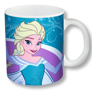 Disney Frozen Elsa Ceramic Mug- Blue