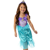 Disney Princess Ariel Dress-Blue/Purple