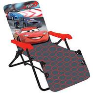 Disney Cars 2  Kids Lounge Chair-Black/Red