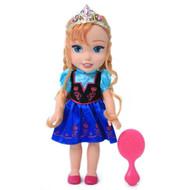 """Disney Frozen Toddler Anna 13"""" Doll Set"""