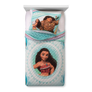 Disney Moana Reversible Quilt and Sham-Twin/Full