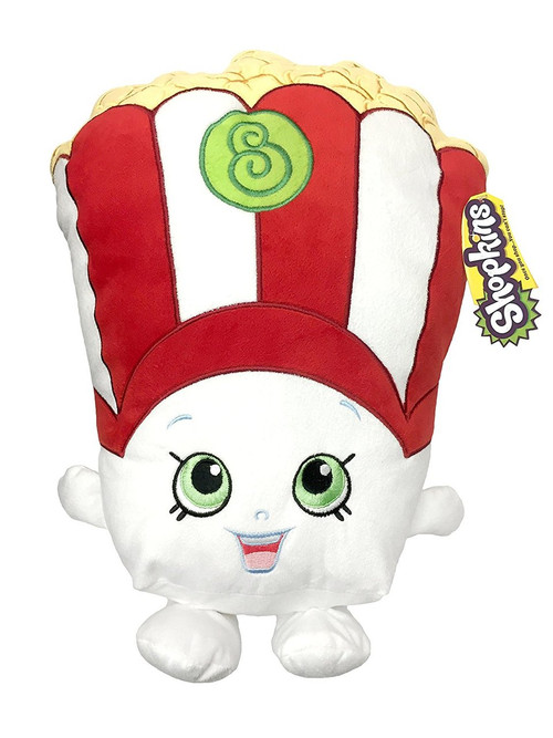 White 6 Cube Kids Toy Games Storage Unit Girls Boys: Shopkins Poppycorn Decorative Pillow