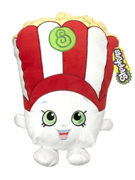 Shopkins Poppycorn Decorative Pillow - White/Red
