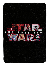 Star Wars Plush Twin Blanket- Black