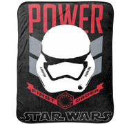 Star Wars Ep7 Rule Galaxy Fleece Throw