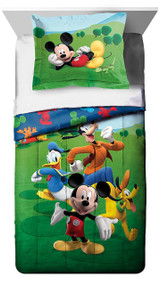 Mickey Mouse Clubhouse Twin Comforter Set