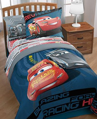 Disney Cars Editorial Full Bed Set